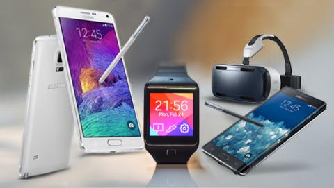 Samsung en IFA 2014: Galaxy Note 4, gafas de realidad virtual Gear VR y wearables.