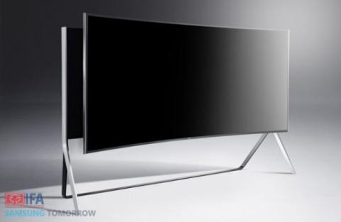 Teelvisor flexible de Samsung