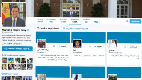 Mariano Rajoy seguidores Twitter