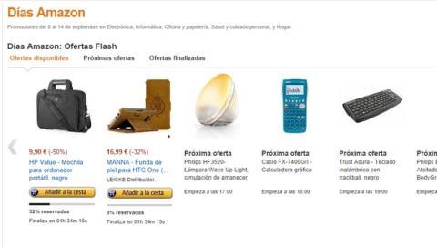 Días Amazon, ofertas, descuentos y chollos en Amazon cada hora, del 8 al 14 de septiembre