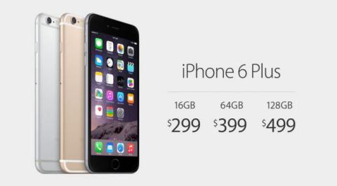 iPhone 6 Plus Precios