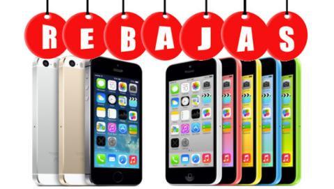 Apple rebaja precios iPhone 5S, 5C