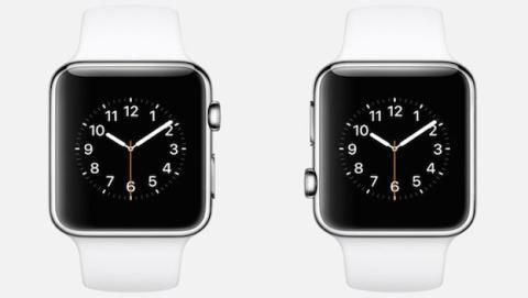 Apple Watch para diestros y zurdos