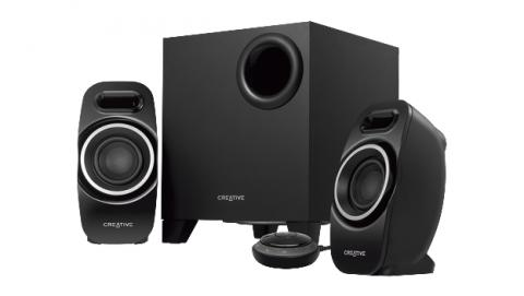 Creative T3250 Wireless, altavoces 2.1 Bluetooth sin cables.
