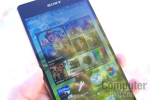 Xperia Z3 pantalla