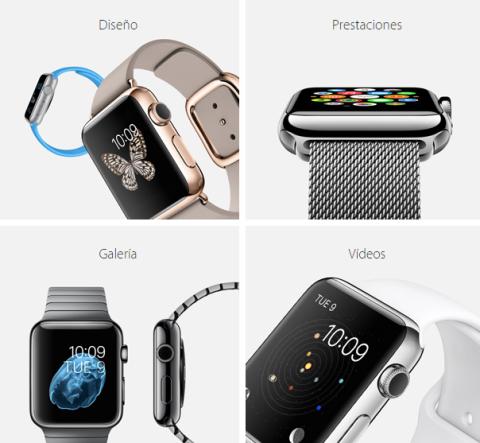 hora apple watch