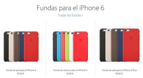 6eeeceb4f8b Fundas de iPhone 6 y complementos oficiales (precios) | Tecnología ...