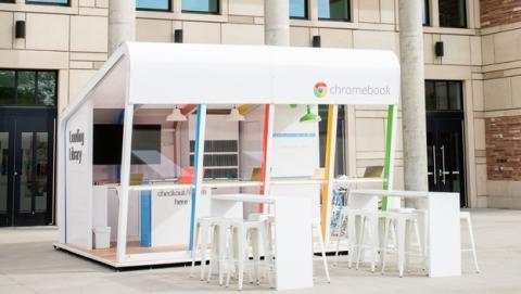 Google prestará Chromebooks a estudiantes en universidades.