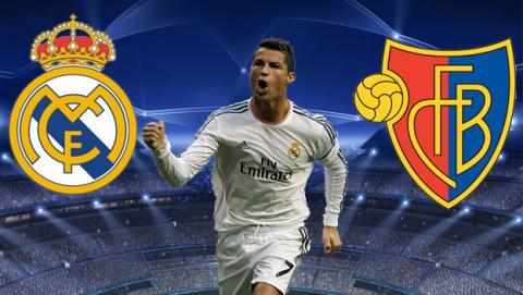Cómo ver online el Real Madrid - Basilea de Champions League