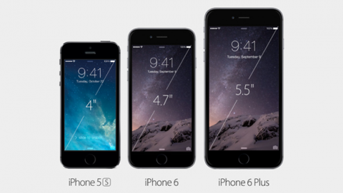iPhone 6 contra todos iphone 5s