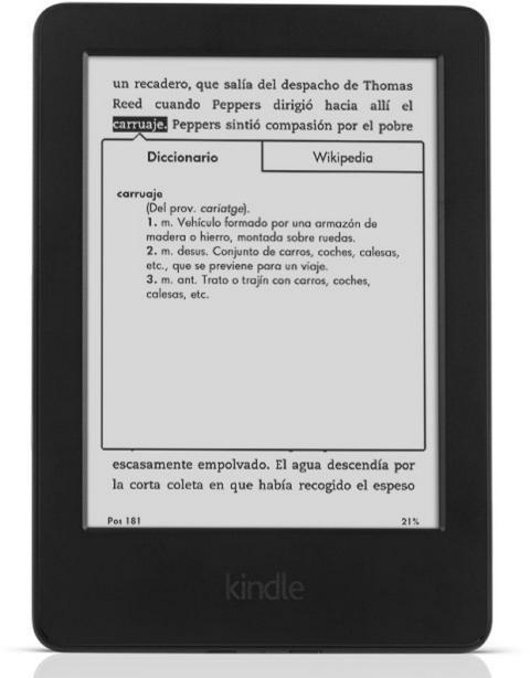 Nuevo Kindle táctil 2014