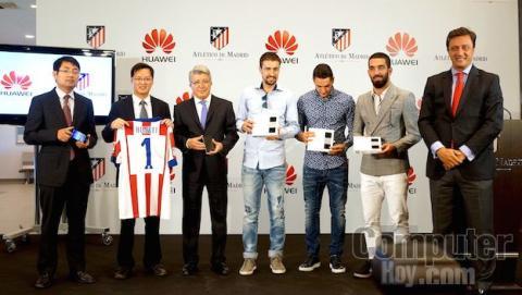 Huawei y atlético de MAdrid