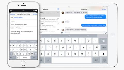 teclados iOS 8