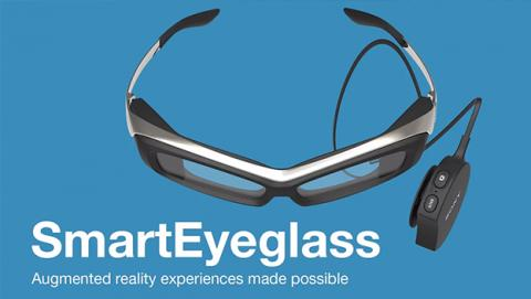 gafas sony SmartEyeglass