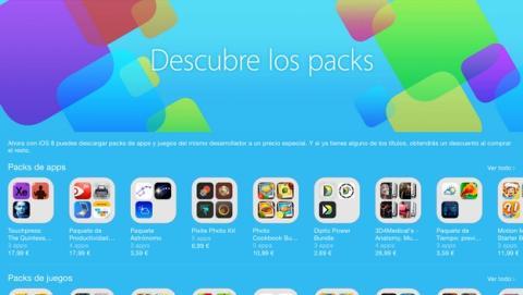 App Store estrena packs de apps con iOS 8. ¿Merecen la pena?