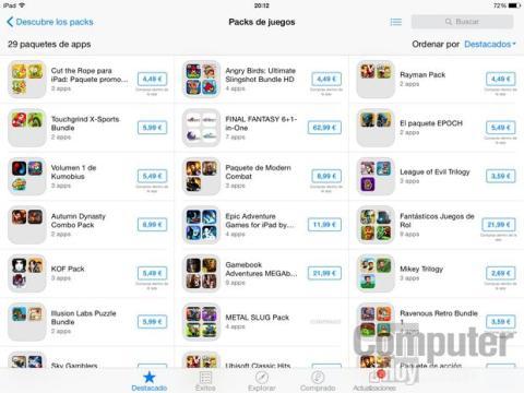 Packs de Apps iOS App Store