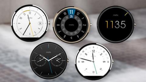 Motorola desvela sin querer un smartwatch Moto 360 dorado.