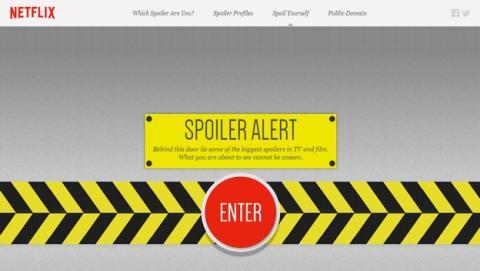 Netflix estrena una web cuya única función es lanzarte Spoilers.