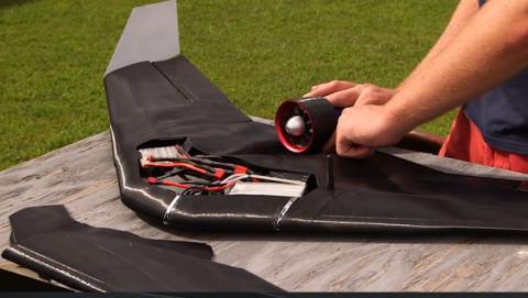 dron militar razor