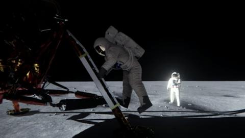 Nvidia confirma que el hombre pisó la luna