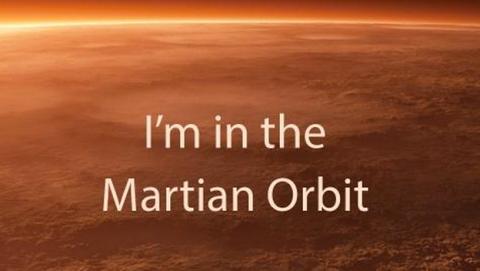 Satélite indio en Marte