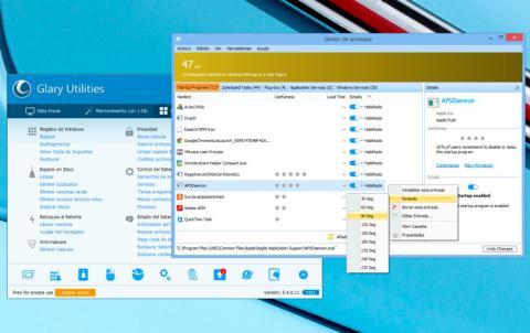 Programas que se inician con Windows