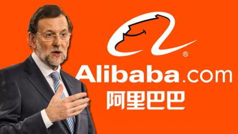 Rajoy negocia con Alibaba su posible llegada a España