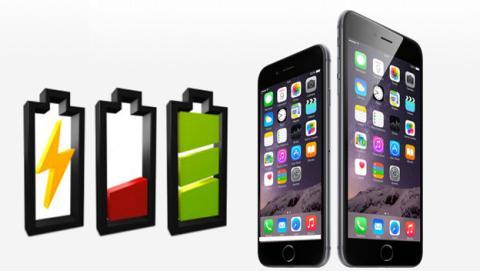 Batería en iOS 8
