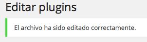 Editar plugins