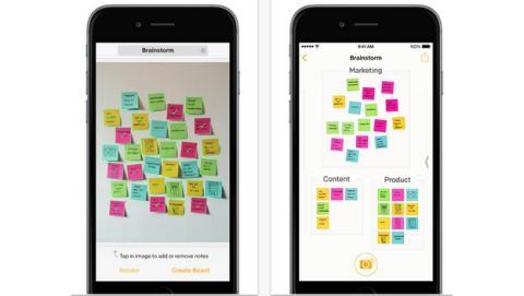 Los míticos Post-it llegan al iPhone, sólo para iOS 8.