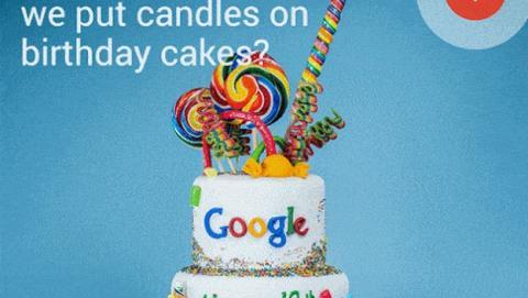 Android L, las piruletas y el cumpleaños de Google