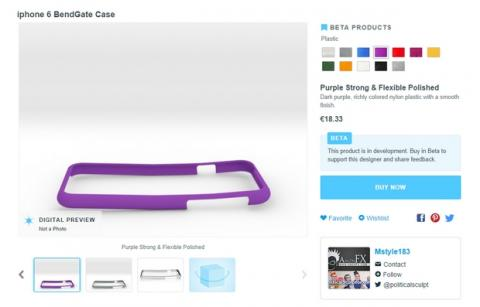 iPhone 6 BendGate la funda doblada