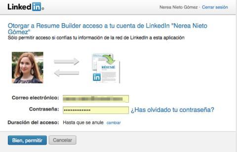Autorizar a LinkedIn