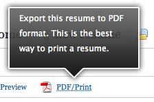 Exportar en PDF tu CV de LinkedIn