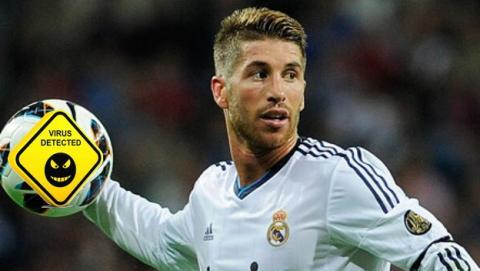 Sergio Ramos es el famoso más peligroso de la Red en España, según McAfee.