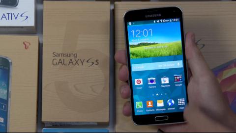 Así es Android L funcionando en un Samsung Galaxy S5