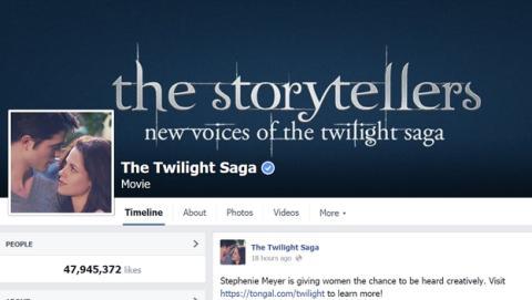 Vuelve Crepúsculo. ¿Está recuperando Facebook a los jóvenes?