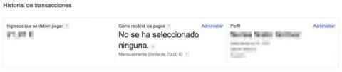 Pagos en Google AdSense