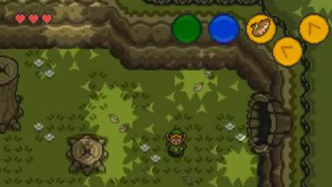 Zelda 2 Dimensiones