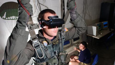 Realidad virtual podría ayudar con TEPT