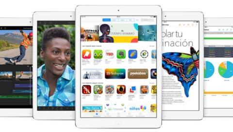 Un iPad lleno de apps pesa más que uno sin nada instalado