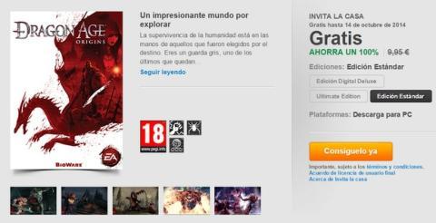 Descargar Dragon Age gratis
