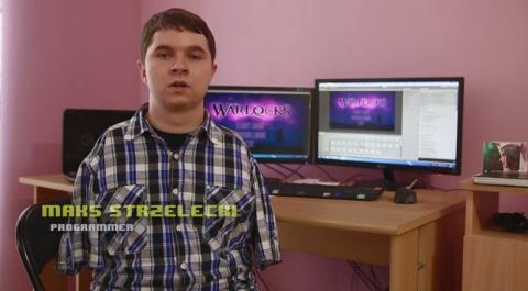 Max Strzelecki, el desarrollador de Warlocks que programa con los pies