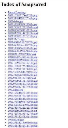 Miles de fotos y vídeos íntimos de Snapchat, la mayoría de menores de edad, en 4chan.