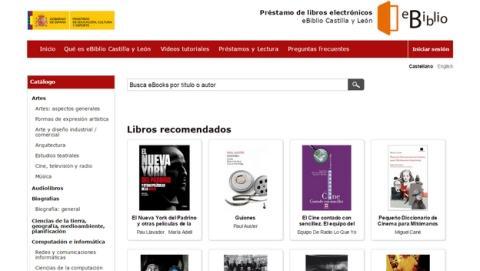 eBiblio, préstamo de ebooks