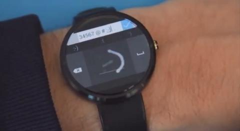 Teclado analógico Android Wear Microsoft