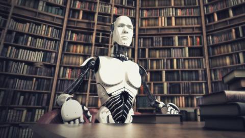 Biblioteca del Futuro: Libros para dentro de 100 años.