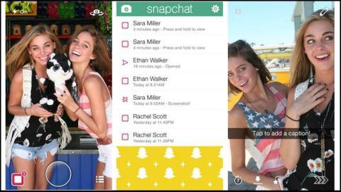 The Snappening: fotos y vídeos de menores, jóvenes y otros usuarios de Snapchat, colgados en la Red.