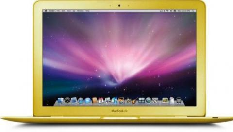 MacBook dorado