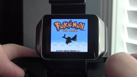 Consigue jugar a Pokémon y a Super Mario en su smartwatch